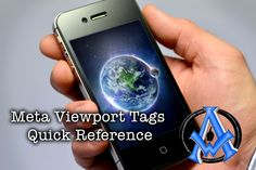 Viewports for Mobile Header Tags Quick Reference - https://a1websitepro.com/viewports-mobile-header-tags-quick-reference/