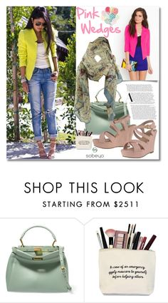 """""""Pink"""" by andrea2andare ❤ liked on Polyvore featuring Fendi"""