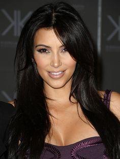 Kim Kardashian promoting the 2011 Kardashian Kollection at Sears.