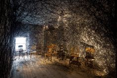 _Chiharu Shiota [Trace of Memory [the Mattress Factory, Pittsburgh] photo by Tom Little]
