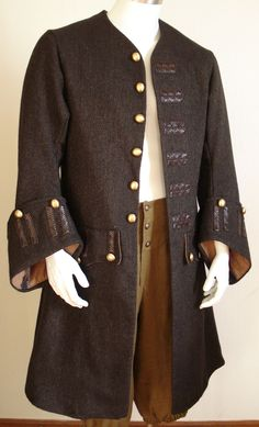 colonial/pirate coat