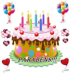Data especial Happy Birthday Celebration, Birthday Decorations, Diy And Crafts, Birthdays, Birthday Cake, Gifs Lindos, Paulistano, Cello, Quotes