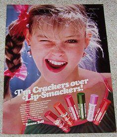 Lip Gloss in the 80s! Lip Smackers, Color Change Mood Lipstick, Kissing Potion, Avon Figural Lip Glosses, and Village Lip Lickers