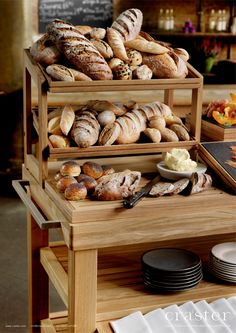 Flow - Stands - Offering floor and countertop options, our Fruit Stands are made from solid oak, and add rustic style to Point of Sale display Countertop Options, Soap Shop, Fruit Stands, Breakfast Buffet, Solid Oak, Rustic Style, Fine Dining, Flow, Display Stands