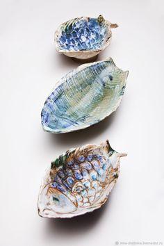 Ceramic dishes Fish |  Купить Керамические блюда Рыбы в интернет магазине на Ярмарке Мастеров