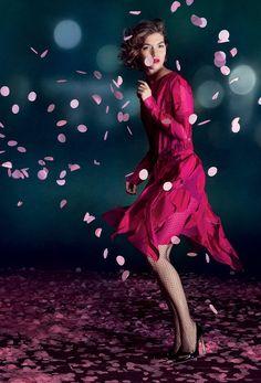 Arizona Muse Fronts Nina Ricci's Spring 2013 Campaign by Inez & Vinoodh