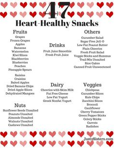 How do you get heart disease heart healthy foods heart disease is healthcare diet to lose weight 47 heart healthy snacks forumfinder Images