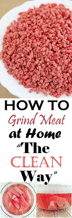 """I've had many readers ask this question: """"Why do I soak and wash meat before cooking?"""" Soaking meat does not remove or kill bacteria. Bacteria are killed when the meat reaches extreme cooking temperature. So the quick answer..."""