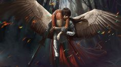 1920 x 1080 px free high resolution wallpaper fantasy angel  by Lockwood Allford for: TrunkWeed.com
