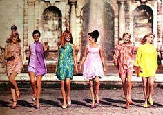 Burda Moden March 1968 - Ad for Bellinda Stockings