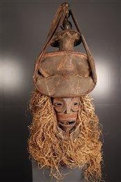Chokwe mask Cihongo - African Art