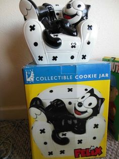 Felix The Cat Cookie Jar