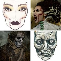Halloween costumes inspired by MAC Cosmetics!