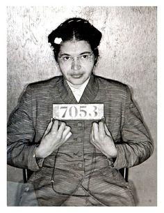 Rosa parks  #StrongWomen #RosaParks