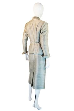 1940s Amazing Fitted Silk Lilli Ann Suit image 3