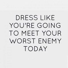 . #dress #enemy