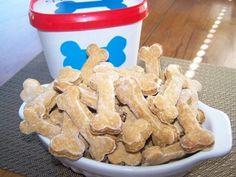 Recette Biscuit pour chien au poulet