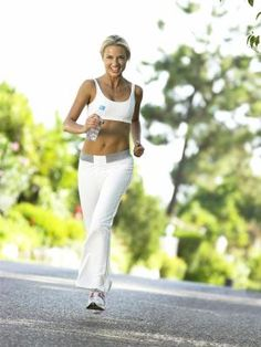 jogging is a great cardio workout that can also tone the legs and butt