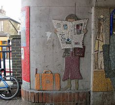 a mosaic in London