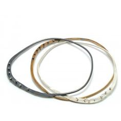 Brass Riveted Edge Bangle