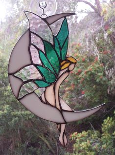 Painted Glass Art Old Windows Stained Glass Angel, Stained Glass Ornaments, Stained Glass Suncatchers, Stained Glass Flowers, Faux Stained Glass, Stained Glass Projects, Stained Glass Windows, Stained Glass Patterns Free, Stained Glass Designs