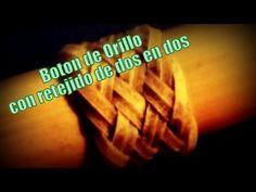 """Botón de Orillo -Retejido de 2 en 2 - """"El Rincón del Soguero"""""""