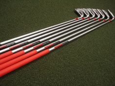 You can select custom golf clubs for the shafts and club heads.  They will give you flexibility in your swing and drive. Custom golf irons help the professional golfers.