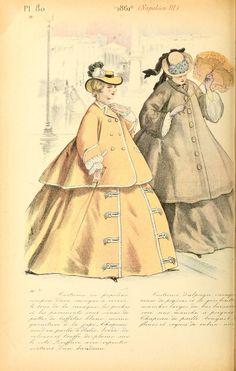 1861 - La mode pendant quarante ans de 1830 à 1870 by Louis Colas