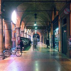Buonasera da #Bologna! E non da un portico qualsiasi! Questa foto è di @francina1983 local manager di @igersbologna by lacronacaitaliana