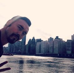 Peace to the beautiful Beast in the east. Gbye to the city that never sleeps. Love to Big Apple crew. Kevin Durand, City That Never Sleeps, The St, Movies And Tv Shows, Sexy Men, New York Skyline, Hot Guys, Nyc, Peace