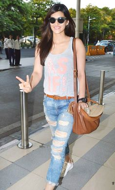 Bollywood Actresses Airport Styles - Travel Fashion Ideas - Let Us Publish Indian Celebrities, Bollywood Celebrities, Bollywood Actress, Airport Look, Airport Style, Bollywood Outfits, Bollywood Fashion, Fashion Outfits, Fashion Trends