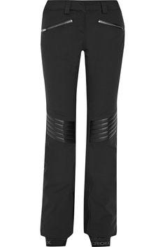 88d7087fc5 LACROIX Distinction faux leather-paneled stretch-shell ski pants. #lacroix  #cloth