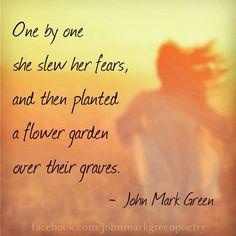 """Beautiful Warrior"" - John Mark Green"