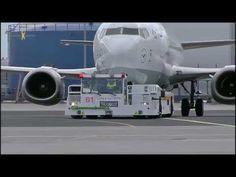 Lufthansa setzt neuartigen Flugzeugschlepper in Frankfurt ein   traveLink
