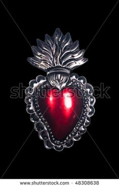 sacred heart wood carving - Google Search