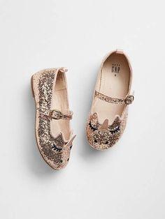 9365ea5f174d Gap Unicorn Sparkle Ballet Flats Boys Fashion Dress