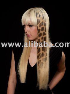 Hair Extensions | Hair Extension - Hair Tattoo Giraffe Photo, Detailed about Safari Hair ...