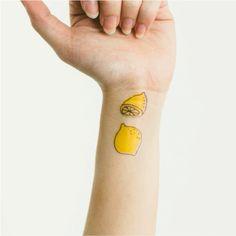 A Lemon and a Half   Habitatt Supply Co.   Finest Quality Designed Temporary Tattoos