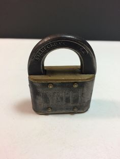 A personal favorite from my Etsy shop https://www.etsy.com/listing/507137721/yale-towne-mfg-co-padlock