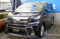 Toyota Verfille dari Toyota merupakan Multi Purpose Vehicle atau MPV elegan sebagai turunan dari Toyota Alphard.