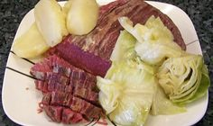 Boiled Corned Beef and Cabbage Recipe