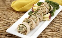 Tuna, Spinach, White Bean and Wheat Germ Wrap Vegan Meals, Vegan Recipes, Healthy Cooking, Healthy Eating, Tuna Wrap, Whole Wheat Tortillas, Wheat Germ, Spinach Leaves, Vegane Rezepte