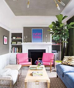 this client is clearly not afraid of color says gibson pink
