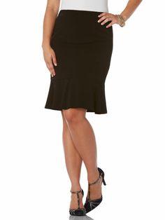 Gabardine Flair Skirt #holidaycontest rafaellasportswear.com