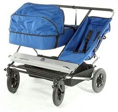 Mountain Buggy Urban Triple Jogging Stroller. twins and a toddler