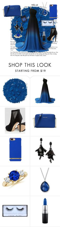 """Untitled #100"" by christinaioana ❤ liked on Polyvore featuring Illamasqua, ALDO, MICHAEL Michael Kors, Oscar de la Renta, Ippolita, Huda Beauty, MAC Cosmetics and NARS Cosmetics"