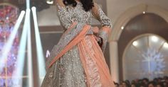 showcased her new wedding dresses at the Telenor Bridal Couture Week on Day 2 with a new Couture Collection, in Lahore. New Wedding Dresses, Wedding Suits, Indian Clothes, Indian Outfits, Indian Formal Wear, Indian Fashion Designers, Fashion Outfits, Fashion Clothes, Indian Bridal