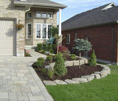 No Lawn Front Yard Canada tlcca professional landscaping london ontario canada Source: website front yard gardens grow grass landscape o. Outdoor Landscaping, Front Yard Landscaping, Outdoor Gardens, Landscaping Ideas, Landscaping Borders, Shade Landscaping, Modern Landscaping, Landscape Design, Garden Design