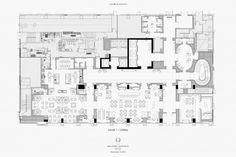 Floor Plan Sketch, Restaurant Layout, Beijing Hotels, Office Floor Plan, Architectural Floor Plans, Hotel Concept, Hotel Room Design, Elevation Plan, Office Space Design