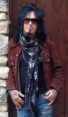 Nikki Sixx at home Hair Metal Bands, 80s Hair Bands, Motley Crue Nikki Sixx, Sixx Am, Vince Neil, Tommy Lee, Rockn Roll, Jim Morrison, My Favorite Music